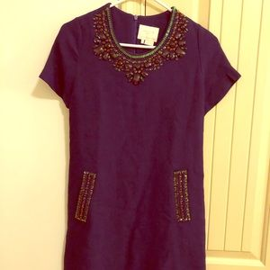 Kate Spade Jeweled Dress Size 4